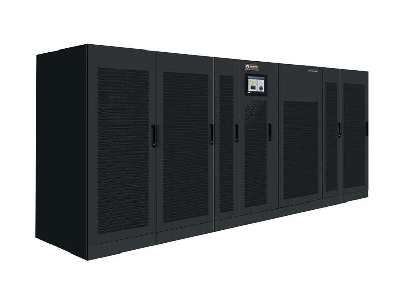 Front view of the Trinergy Cube modular, online UPS system