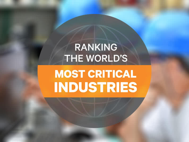 Vertiv Ranks Most Critical Industries in the World image