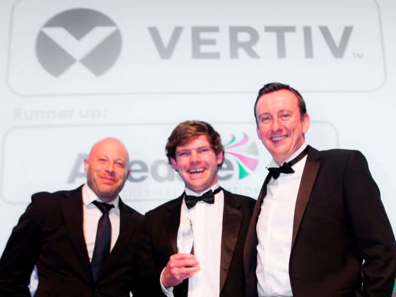 "Vertiv Awarded ""Data Centre Cooling Product of the Year"" at the 2017 Data Centre Solutions Awards in London image"