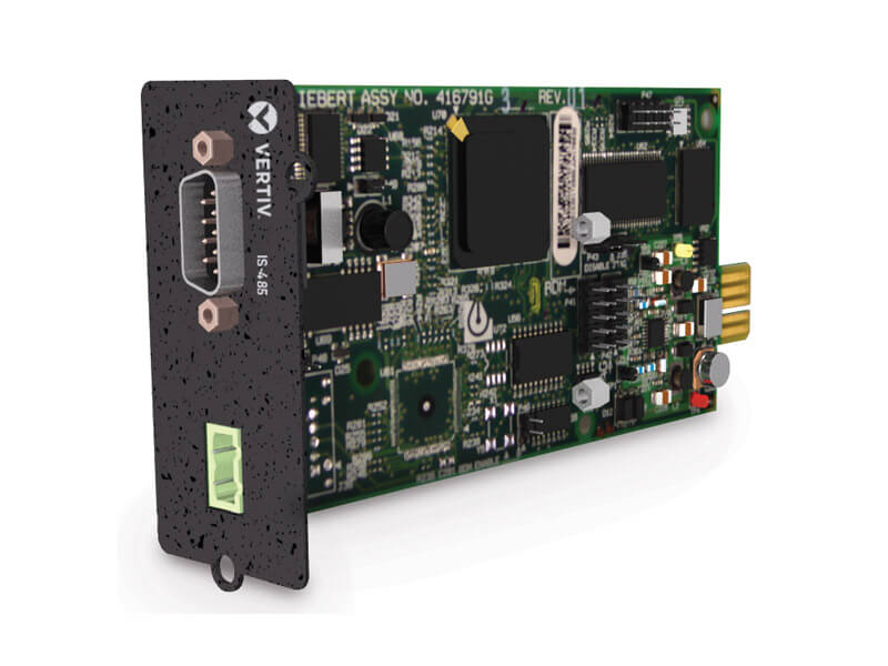 Liebert® IntelliSlot™ 485 and Building Management System  Interface Cards image