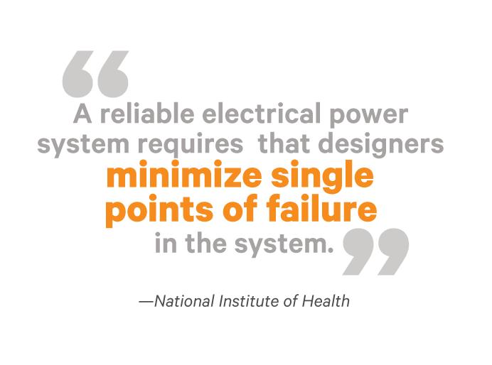 Power System Reliability Studies Vertiv Critical Facilities