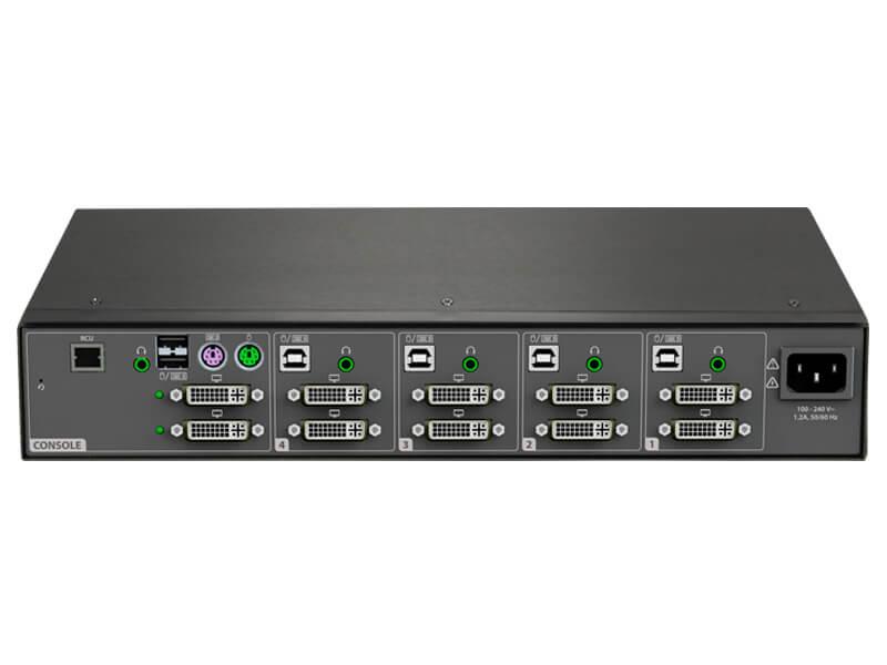 Cybex SC 940 Secure Desktop KVM Switch | Vertiv DVI KVMs