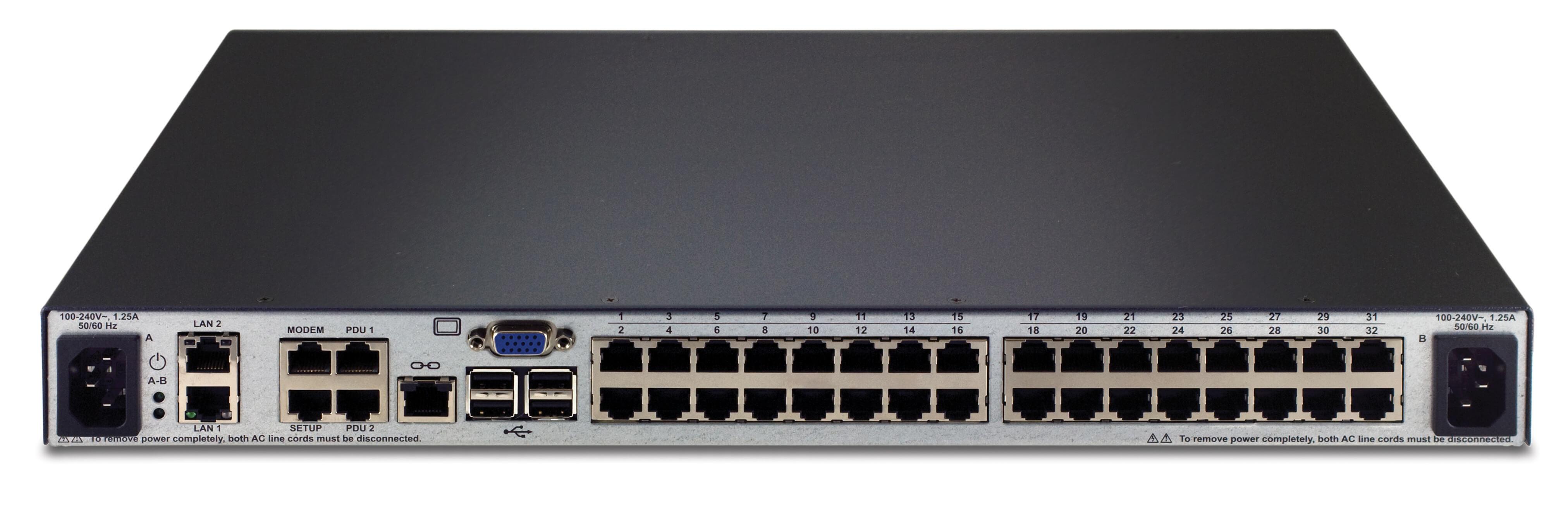 Sc740-001 avocent switchview sc740 dual monitor 1x4 secure dvi kvm.